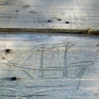 Captain Timothy Hill House, Chincoteague, VA | Ship Carving